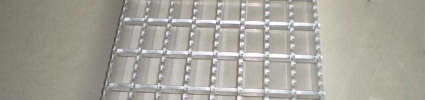 Aluminum Press Lock Gratings Supplier Oman